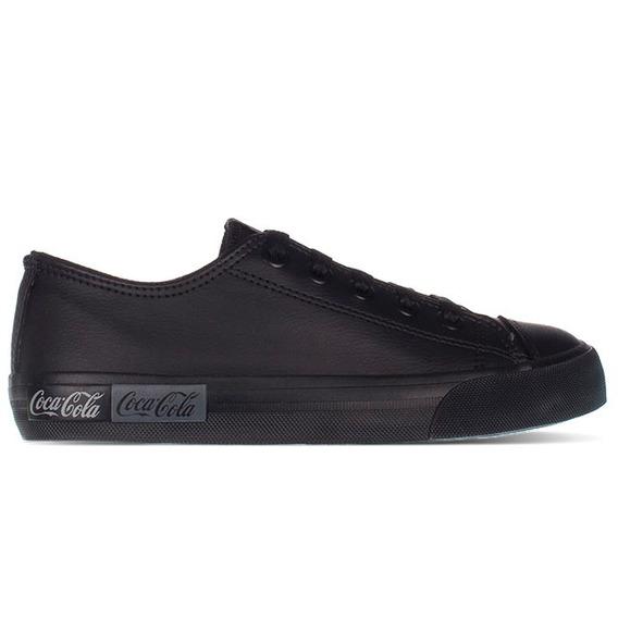 Tênis Coca-cola Shoes Basket Blend All Black - Cc1688