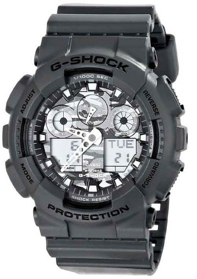 Relógio Casio G-shock Ga-100cf-8adr *camuflado