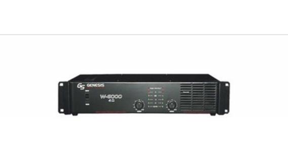 Amplicador Potência 500w Rms 250w+250w Amplificador W5000