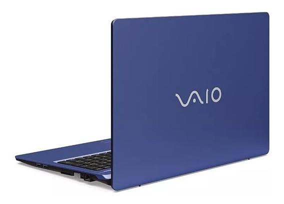 Notebook Vaio Fit 15s Core I7-8550u 8gb 1tb Tela 15.6 Azul