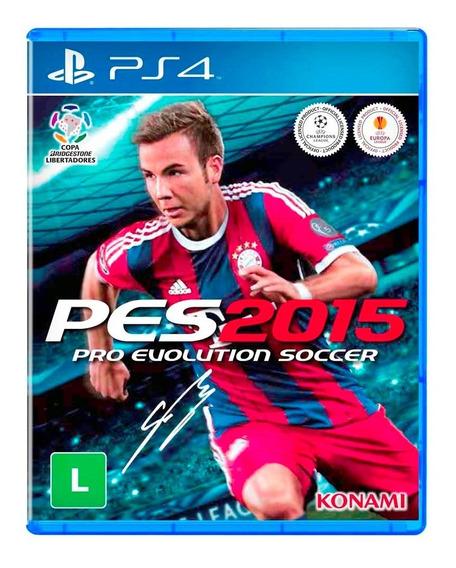 Pes2015 Pro Evolution Soccer Ps4 Playstation 4 Mídia Física