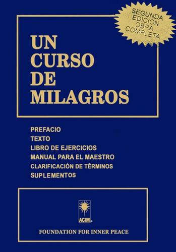 Un Curso De Milagros - Con Suplementos - Libro Original