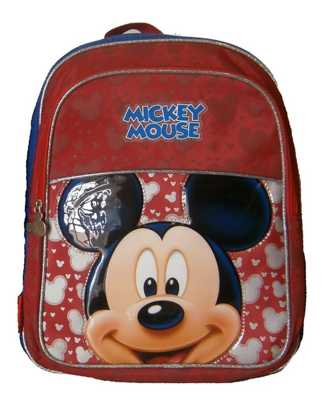 Mochila Espalda 15 PuLG Disney Mickey Orig Km501 Mundomanias