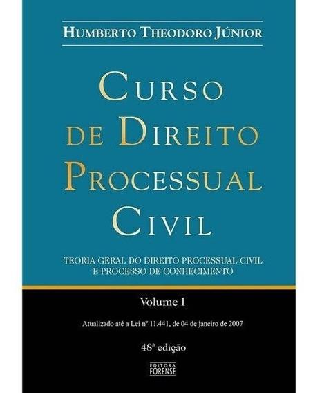 Curso De Direito Processual Civil - Vol I - Humberto Theodor