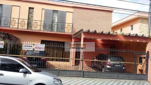 Imagem 1 de 1 de Sobrado Residencial À Venda, Jardim Pilar, Santo André. - So1127