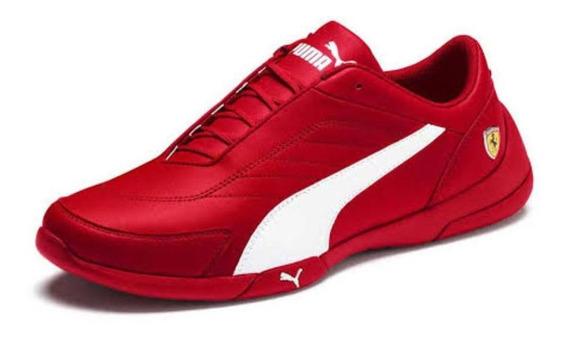 Tenis Puma Ferrari Sf Kart Cat Lll Rojos 30621904 Bmw Amg