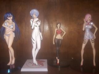 Figuras De Anime Medaka,megumi, Robin Y Reiju