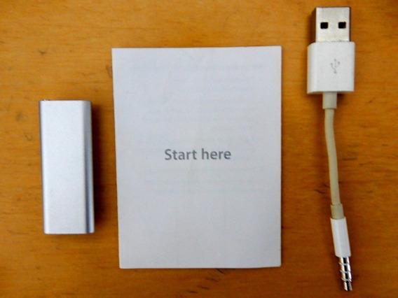 iPod Shuffle 2gb Geração 3 Com Manual Original