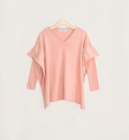 Sweater Cloud Tejido En Hilado Italiano