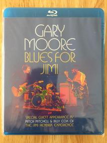 Blu-ray Gary Moore Blues For Jimi (2012) 1ª Edição Nacional!