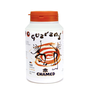 Guaraná 500mg 100 Cápsulas - Chamel