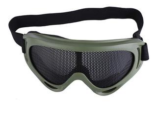 X400 Tactics Mesh Goggles Lentes De Acero Sunglass Airsoft O