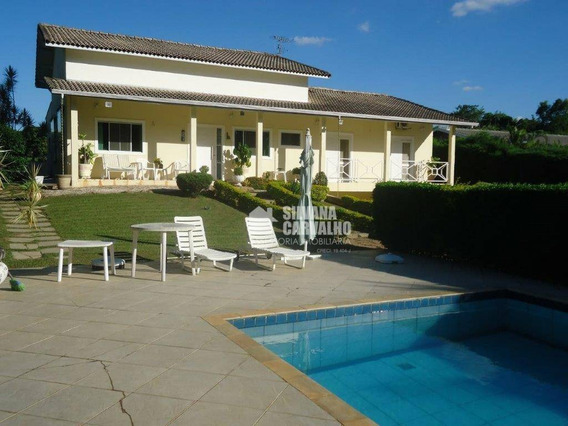 Casa Para Locação No Condomínio Monte Belo Em Salto. - Ca7189