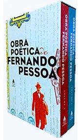 Box Livro Obra Poética De Fernando Pessoa Capa Dura Ed. Luxo