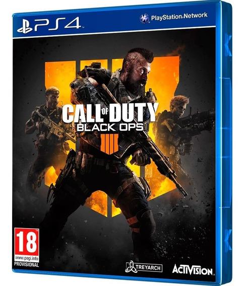 Call Of Duty Black Ops 4 Mídia Física Lacrado - Ps4