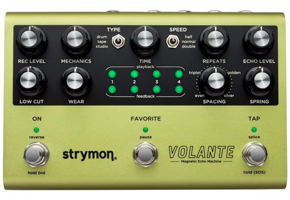 Strymon Volante Magnetic Echo Pedal - Novo, Garantia, Nf-e