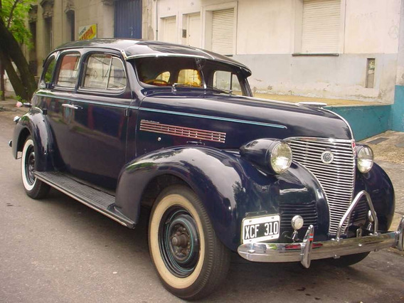 Coche Chevrolet Master De Lujo De Colección Modelo 1939