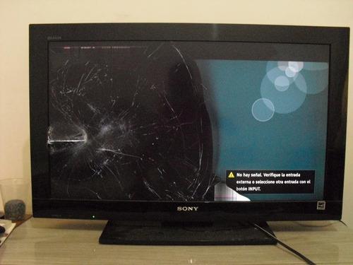 Tv Sony Bravia 32 Pulgadas (pantalla Partida)