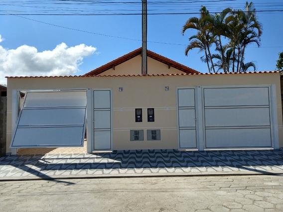 Casa Nova Em Itanhaém R$ 185 Mil