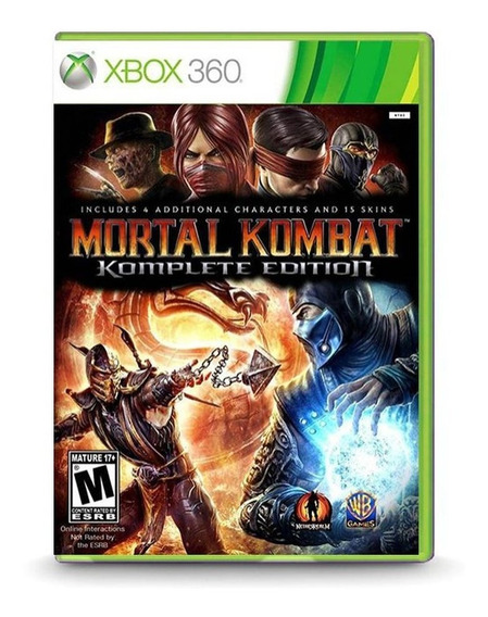 Mortal Kombat Mídia Digital Xbox 360