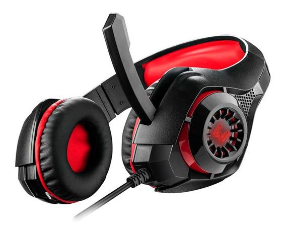 Fone De Ouvido Com Microfone Headset Led Gamer Warrior Ph219
