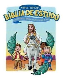 Minha Primeira Bíblia De Estudo Autor :thomas Nelson