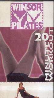 Winsor Pilates 20 Minute Workout Videocassettevhs En Inglés