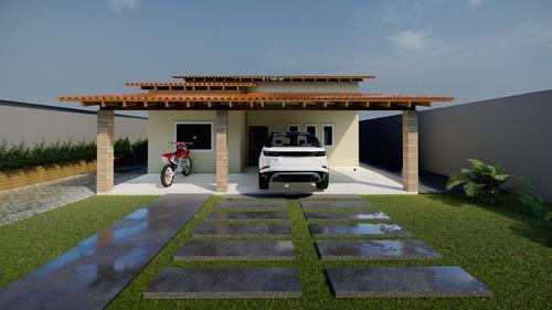 Projeto Arquitetônico Casa De Campo/urbana 200m²
