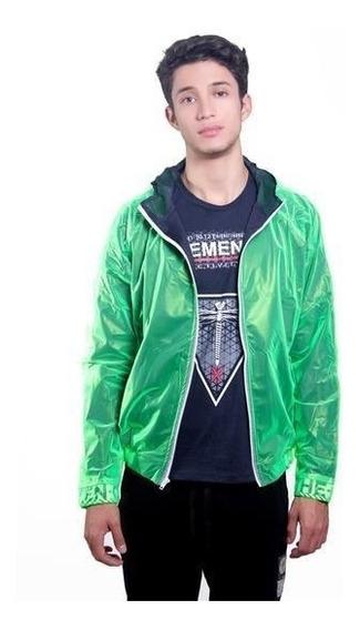 Chamarras Bomber Neon Green