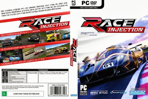 Race Injection - Race 07 + 5 Expansões - Pc Dvd Original