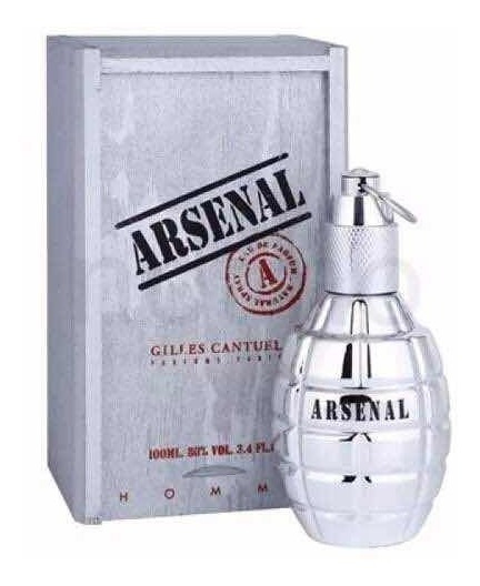 Perfume Arsenal Platinum Masculino Edp 100ml Original 100%