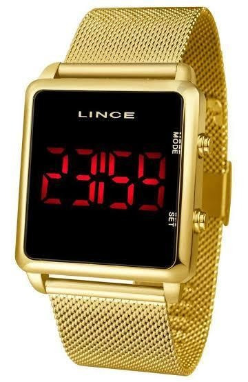 Relógio Lince Digital Quadrado