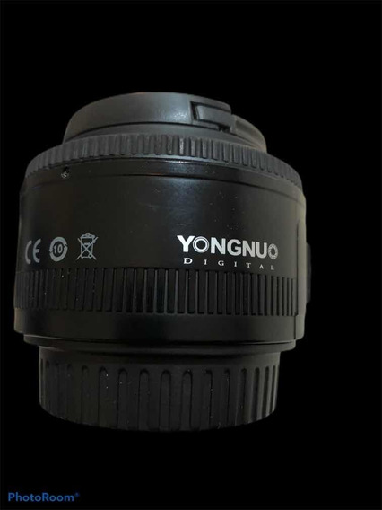 Lente 50mm 1.8 Yongnuo Seminova