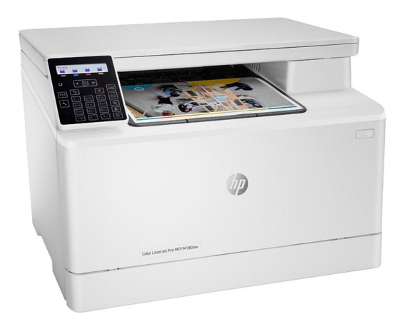 Impresora Laser Multifuncional Inalambrica Hp M180nw A Color