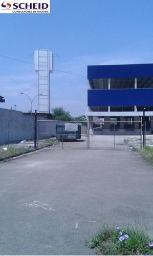 Imagem 1 de 3 de Excelente Galpão Industrial, Ao Lado Da Anhanguera, Com Boa Área Fabril, Docas - Mr51700