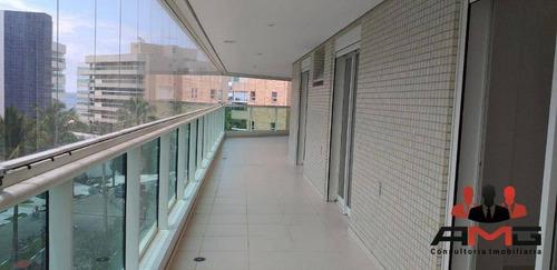Apartamento Com 4 Dormitórios À Venda, 212 M² Por R$ 3.500.000,00 - Riviera - Módulo 7 - Bertioga/sp - Ap2207