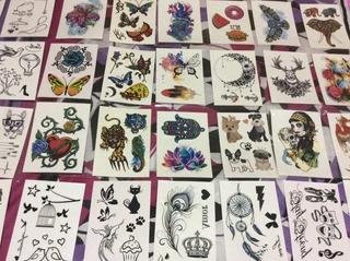 35 Cartelas Tatuagem Temporária Promoção Compre Dois Leve 3