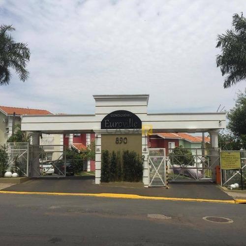 Casa Com 3 Dormitórios À Venda, 110 M² Por R$ 650.000,00 - São Vito - Americana/sp - Ca0301
