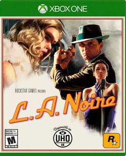 ¡¡ La Noire Para Xbox One En Wholegames !!!