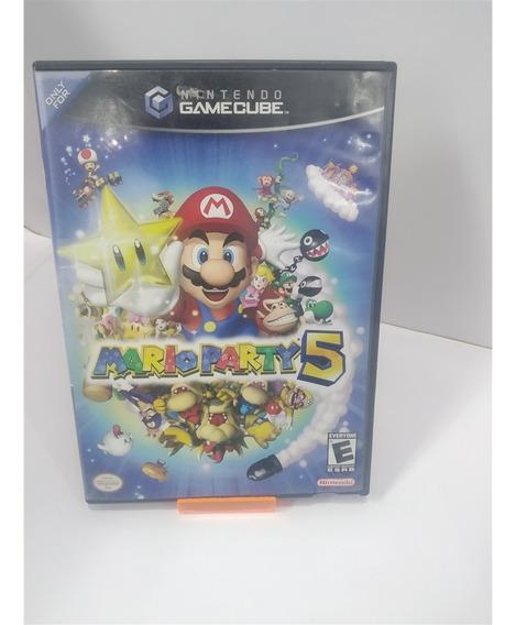 Mario Party 5 (seminovo) - Game Cube