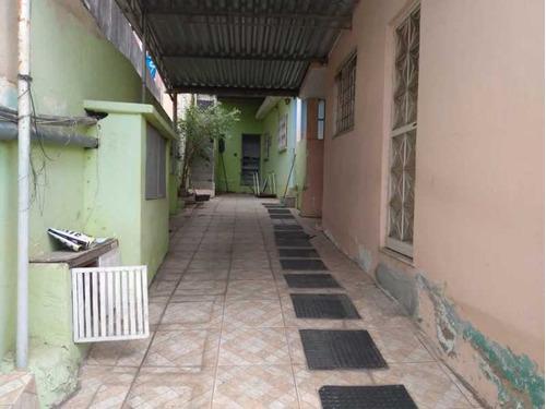 Terreno Com Duas Casas E Uma Kitnet Disponível Para Venda Localizado Em Nilópolis!!! - Sica20042