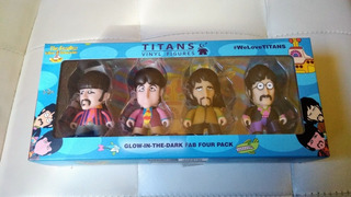 The Beatles Titans Vinyl Figures Yellow Submarine