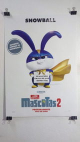 Posters Hellboy, Vida Secreta De Las Mascotas, Dumbo Etc.