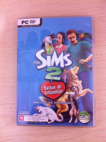 Expansão The Sims 2 Bichos De Estimação Na Caixa