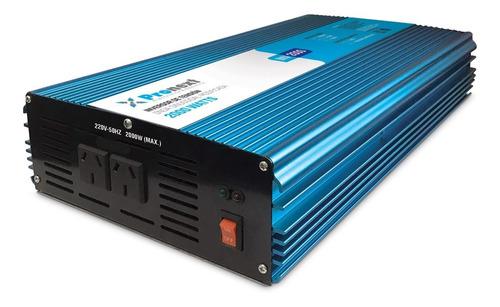 Inversor De Tensión 12vcc A 220vca De 2000 Watts Pronext
