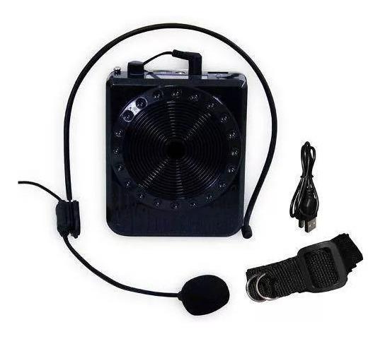 Microfone Portátil Com Caixinha Boas, Mp3 Usb Rádio Fm
