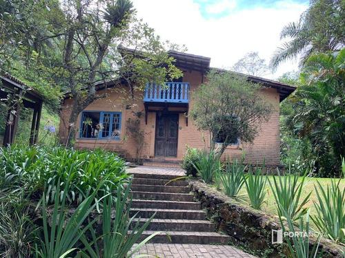 Casa Com 3 Dormitórios, 540 M² - Venda Por R$ 1.650.000,00 Ou Aluguel Por R$ 8.000,00/mês - Vila Real Moinho Velho - Embu Das Artes/sp - Ca0543