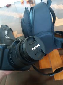 Canont5i+mochila+tripé+duas Lentes Com Filtro