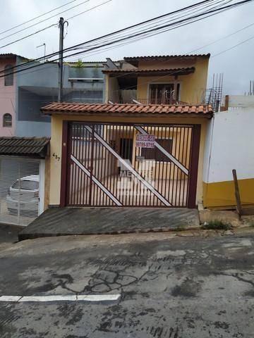 Sobrado Com 3 Dormitórios À Venda, 101 M² Por R$ 500.000 - Vila Silveira - Guarulhos/sp - So0741