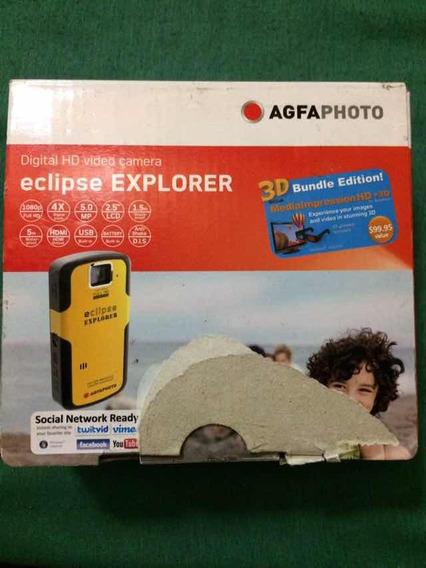 Video Cámara Digital Hd Eclipse De Agua